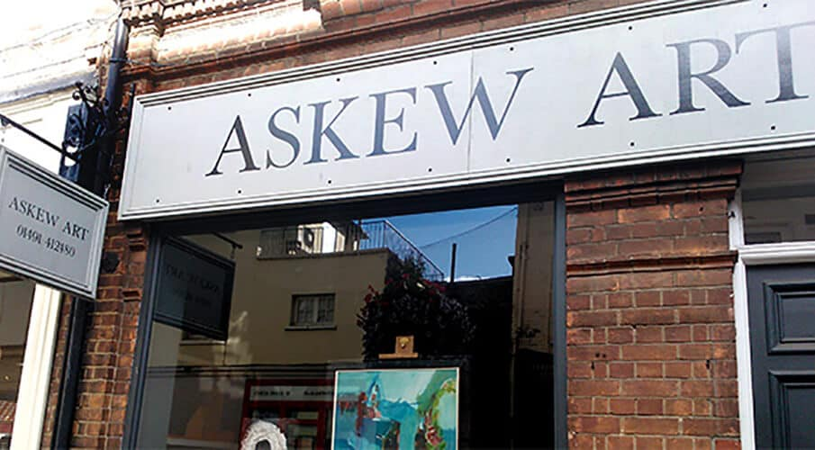Signs that work #3: Askew Art
